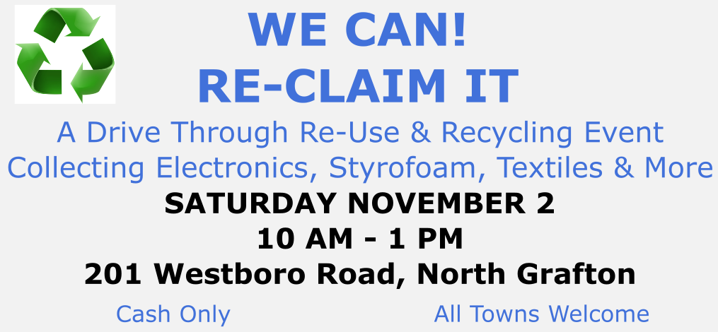 RE-CLAIM IT EVENT